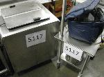 Lot: 5117 - ICE CREAM COOLER WITH CART AND INSULATED BAG