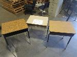 Lot: 702 - (60) Student Desks
