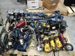 Lot: 17-206 - Tools: Cordless Drills, Circular Saw, Grinder