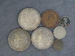 Lot: 2210 - 1881-S, (2) 1898-O MORGAN DOLLARS