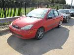 Lot: 1703658 - 2001 FORD FOCUS