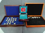 Lot: 139 - DANBURY MINT DISPLAY AND 228 UNC COINS