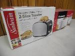 Lot: A5487 - (2) Like-New Toasters Sunbeam Chefmate