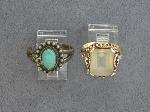 Lot: 2278 - 10K RING & STERLING RING