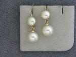 Lot: 2280 - 14K EARRINGS