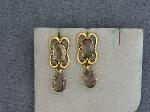 Lot: 2282 - 14K EARRINGS