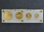 Lot: 2285A - U.S. GOLD EAGLES SET