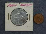 Lot: 2286A - 1955 FRANKLIN HALF & CANADIAN PENNY