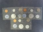 Lot: 2298 - (3) 1960 PROOF SETS