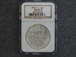 Lot: 159 - 2001 SILVER EAGLE DOLLAR NGC MS69