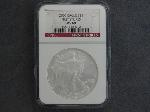 Lot: 165 - 2006 1ST STRIKES SILVER EAGLE DOLLAR NGC MS69