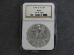 Lot: 175 - 1993 SILVER EAGLES NGC MS69