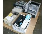 Lot: 647 - UPS's, Rack Mount Power Strips, Printer Trays