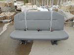 Lot: 1167 - Leather Van Back Seat