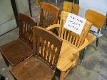 Lot: 218.LUB - (7) Wooden Chairs