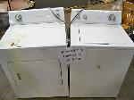 Lot: 219&220.LUB - Whirlpool Washer and Dryer  and   Absocold Refrigerator