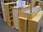 Lot: 237&238.LUB - (8Pcs) Children Furniture/Shelves Side Tables & (7) Book Shelves