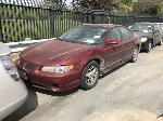 Lot: 1702575 - 2001 PONTIAC GRAND PRIX