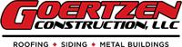Website for GOERTZEN CONSTRUCTION