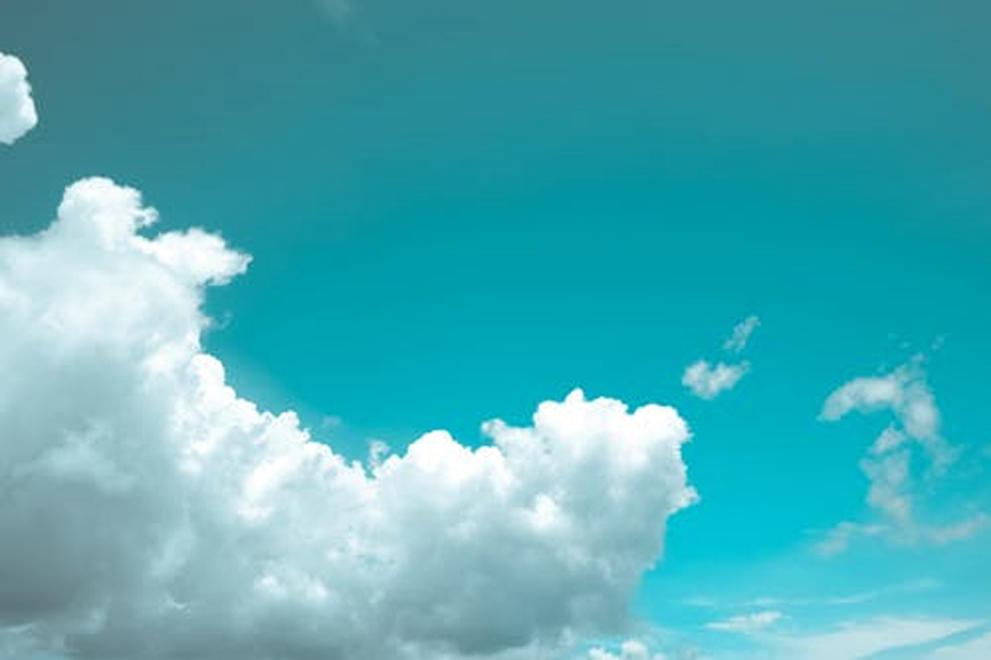 clouding in sky