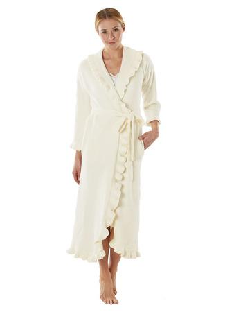Ruffle Robe