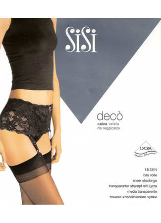 Deco Garter Belt Stockings