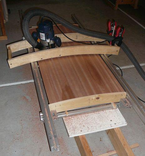 Станок деревообрабатывающий из фанеры своими руками