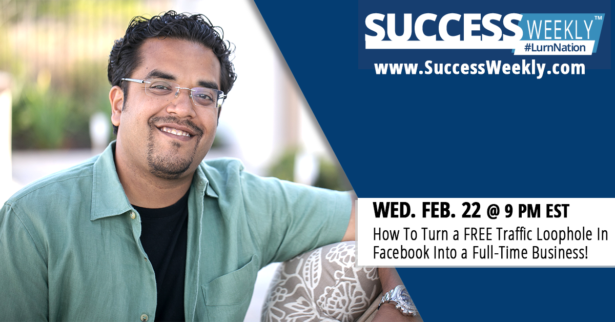 Success Weekly - Registration