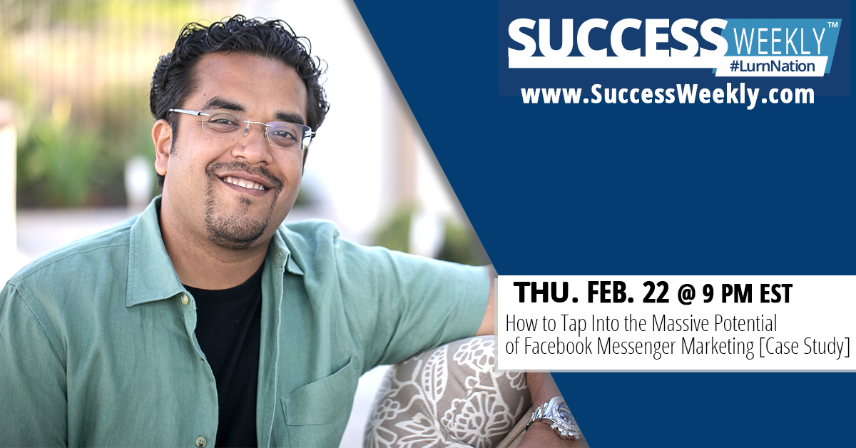 Success Weekly: How To Turn A FREE Traffic Loophole In Facebook Into A Full-Time Business!