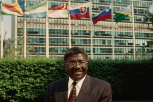 F. Obai Kabia at the United Nations