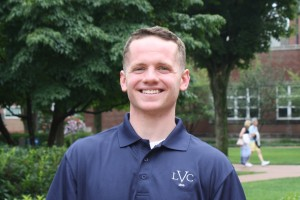 Cole Godfrey is an admission counselor at Lebanon Valley College