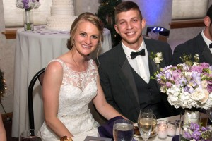 Physical therapy alumni Dr. Craig Miller and Dr. Ines Antensteiner Miller at their wedding