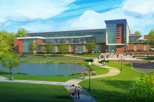 The Arnold Health Professions Pavilion is set to open in 2018