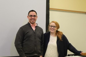 Steve and Jill Whiskeyman, Digital Communication alums, came back to LVC to teach an advertising course