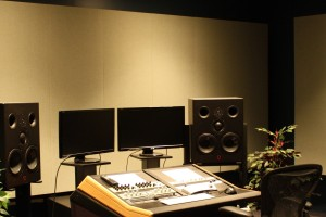 Blair Music Center is home to Studio C - a mastering and game audio studio