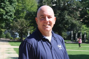 EJ Smith is an associate director of admission at Lebanon Valley College