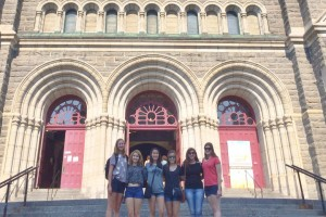 LVC offers a summer study abroad program in Quebec City, Canada