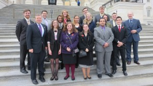 LVC Politics major attend the European Union Simulation in Washington DC