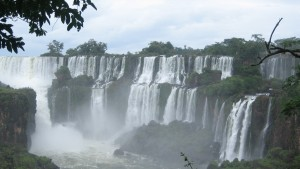 Waterfalls are one of many sights to see in Buenos Aires, Argentina
