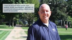 EJ Smith, associate director of admission, loves LVC because of the people