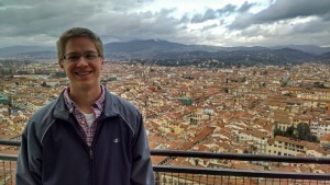 LVC student Bradley Leer visits Florence, Italy