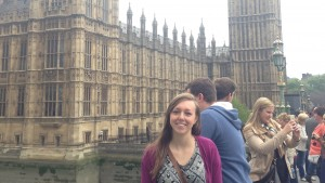 Caity Stevens visits the Big Ben clock tower