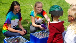 Valleyfest features many activities for children including tie-dying