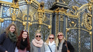 LVC students traveled abroad to London, England