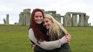 LVC students visit Stonehenge while in London