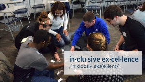 Students participate in the 4th annual inclusive excellence at The Valley