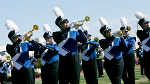 Pride of the Valley performs at homecoming