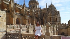 Katt Palacios studies abroad in Spain