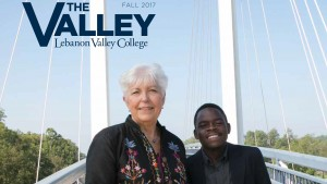 The Valley Magazine issued in fall 2017 features agents of change across the LVC campus