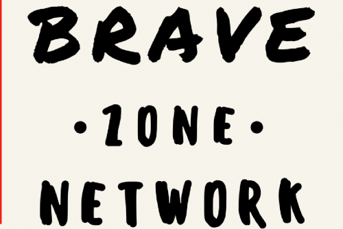 Brave Zone graphic for LGBTQIA+